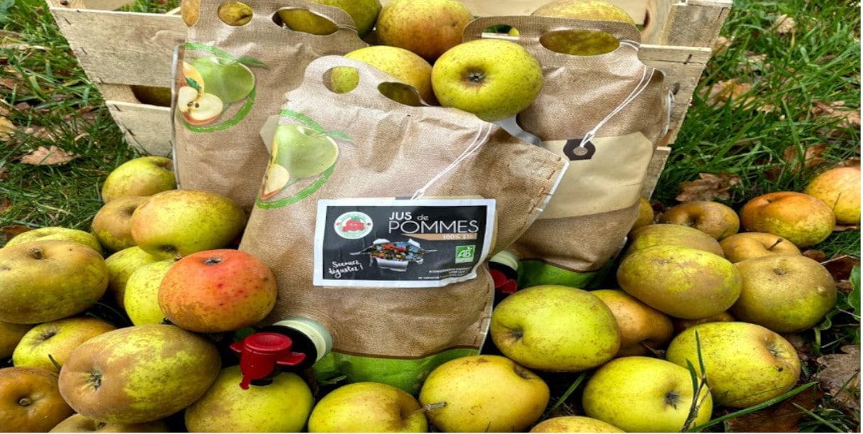 Jus de pommes 100% Bio
