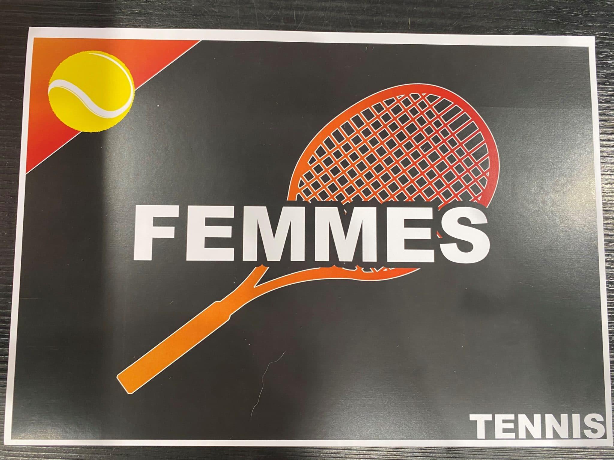 Textile tennis femme